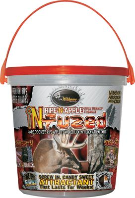 Hunting Even the most secretive trophy bucks have a sweet tooth, and Ripe-N-Apple is like candy free for the taking. Thanks to its gradual-release, controlled-consumption formula, this hard-cooked block lasts for up to five weeks. 5-lb. bucket. Type: Deer Attractants. - $19.99
