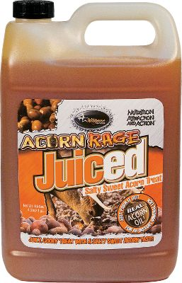 Hunting Potent, proven-effective Acorn Rage in a pourable liquid gel that will lure deer in for weeks. Per one-gallon jug. Type: Deer Attractants. - $8.88