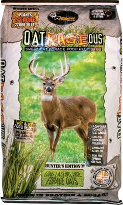 Hunting Sweet forage oats are irresistible to deer. Plus, they re drought- and cold-tolerant for maximum production in most regions. Annual; plant in spring or fall. 50-lb. bag plants 1/2 acre. - $34.99