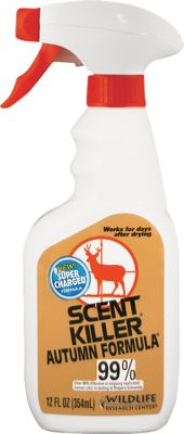 Hunting Autumn Formula has the superior scent-reducing qualities of Scent Killer. Its chemically formulated with the natural scent of the autumn woods and fields. Available: 12-oz. Trigger, 24 oz. Size: 12 OZ TRIGGER. Color: Natural. Gender: Male. Age Group: Adult. - $3.88