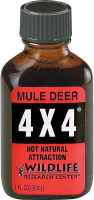 Hunting Bring 'em running with this extra-strong, muley-specific doe-in-heat urine formula. 1 oz. - $5.88