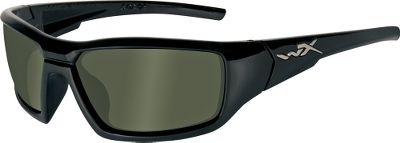 Entertainment Maximum protection and function meets bold, street-series style in the Wiley X Censor Polarized Sunglasses. Shatterproof, eight-layer Filter 8 polarized lenses reduce glare and block 100% of UV rays for maximum performance. ANSI Z87.1-2003-certified for exceptional optical quality and impact resistance. Meets U.S. Military specifications as combat protective eyewear. Rated as OSHA-grade occupational protective eyewear. Includes a leash cord, cleaning cloth and zippered nylon case. Imported. Size: S. Color: Black. Material: Nylon. - $130.00