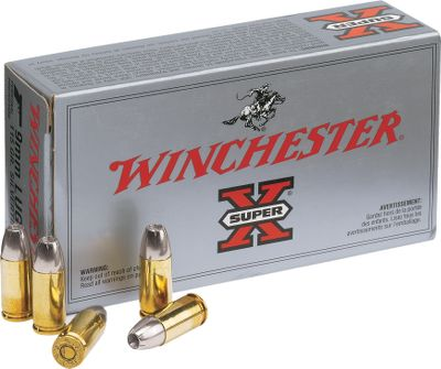 Guns and Military Delivers rapid energy transfer, uniform expansion and reliable accuracy, along with positive functioning in nearly all types of handguns. Type: Centerfire Handgun Ammunition. - $21.99