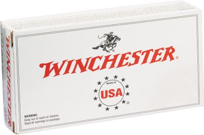 Great performance at a value price thats what Winchester USA handgun ammunition is all about. Engineered for smooth functioning in all types of firearms, its made with reloadable brass cases, noncorrosive boxer primers and clean-burning powders. 95-gr. full metal jacket bullets. Made in USA. Bullet Weight: 95 Grain. Number of Rounds: 300. Type: Centerfire Handgun. No. of Dry- Boxes: 1. Caliber: .380 Auto. Bullet Type: FMJ. Cal/Gaug .380 Auto 95gr 300. - $134.99