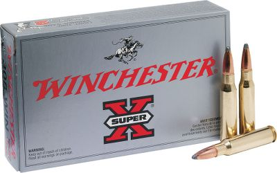 Hunting The 150-grain Power-Point bullets in these new-manufacture, hard-hitting 7mm Remington Magnum cartridges are ideal for deer-sized game. Super-X loads deliver the accuracy and reliability hunters have counted on since 1922. Made in USA. Available: 100 rounds with one Dry-Storage Box. - $299.99