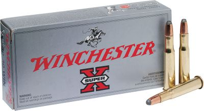Hunting Super-X ammo consistently delivers accuracy and performance that hunters demand, and the 170-gr. Power-Point bullet makes these cartridges effective for most North American big game. New manufacture.Available: 200 rounds of 170-gr. PP and one Dry-Storage Box Type: Centerfire Rifle. - $179.99