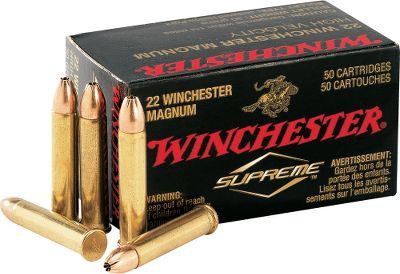 Hunting Start your varmint hunt out right knowing you have the best ammunition in your arsenal. The technologically advanced, high-velocity load pushes its 30-grain, jacketed hollow-point bullet to a blistering 2,250 fps at the muzzle. Includes a free dry-storage box with each 250-round purchase. 50 rounds per box. Made in USA. - $74.99