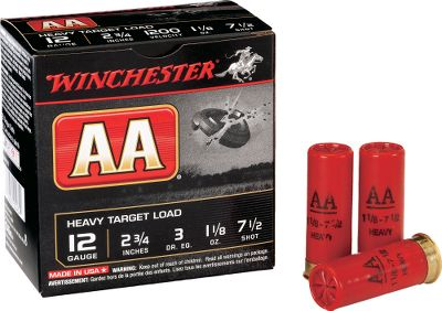 Guns and Military For decades, Winchester AA Target Loads have set the standard for excellence, performance and consistency. Theyre the overwhelming choice of shooters the world over. They produce outstanding results for everything from sporting clays to trap and skeet. Add to this highly competitive pricing and AA Target Loads represent a great value. 25 shells per box; 10 boxes per case. Sold per case. - $94.99