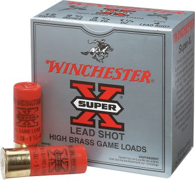 Entertainment Premium components delivering dense consistent patterns, Super-X High Brass loads are proven in-the-field performers. High brass construction combines with specially blended propellants for the increased energy required to effectively take heavy upland birds at extreme ranges. 25 shells per box. Per 10 boxes. Type: Lead. - $129.99