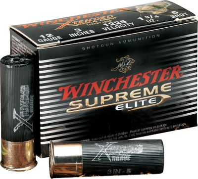 Hunting Specially formulated shot is 10% denser than lead, which translates to harder hits and deeper penetration. The Winchester Xtended Range Hi-Density Turkey Load shot is uniform in roundness and size yet soft enough to use your favorite turkey choke, giving superior patterning performance at longer range, delivering 25% more pellets on target than standard lead loads. 10 rounds per box. Type: Non-Toxic. - $34.88