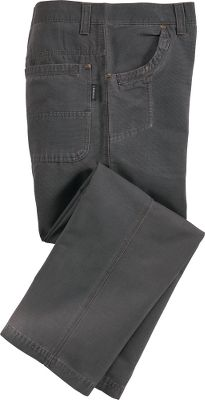 Rugged, concrete-washed 100% cotton ottoman pants are fully lined with anti-pill 100% polyester fleece for ultrawarm comfort. Triple-needle-stitched top delivers reinforced, long-wearing durability. A concrete washing gives them a rugged, broken-in look and feel. Reinforced front and back pockets. Front right knife pocket. Reinforced double-layer bottoms in back pockets. Rivets at front and back pocket openings. Five belt loops. Machine washable. Imported. Inseams: 30, 32, 34. Even waist sizes: 32-44. Colors: Charcoal, Hickory. Waist: 44. Type: Pants. Size: 44. Inseam: 32. Color: Charcoal. Waist 44. Inseam 32. Color Charcoal. - $14.88