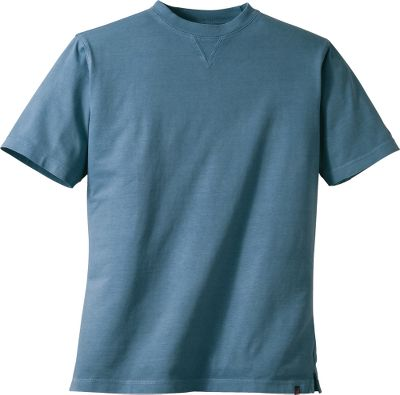 A classic tee with a UPF rating of 50 for sun protection. Side vents add cooling ventilation. Left-sleeve embroidery. 100% cotton jersey. Imported.Sizes: M-2XL.Colors: Shale, Wood, Bay Leaf, Copen, Garnet, Butter. - $19.88