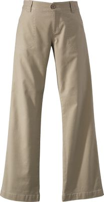 Enjoy the same reflex-stretch Island Cloth comfort from Woolrich in a dressier pant length and featuring decorative waistband stitching. Broken in with a boulder wash. Back welt pockets. 98/2 cotton/spandex. Machine washable. Imported. Sizes: 4-18.Colors: Charcoal, Dark Khaki. - $19.88