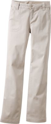 With their casual looks and lightweight, flexible comfort, these pants will take you anyplace work or play takes you. Made of a 97/3 cotton/spandex blend, they're as soft as your favorite khakis, but offer a touch of extra stretch for added freedom of movement. The fabric also sports a UPFrating of 40, so you can head out in the sun without a worry. Comfort waist with decorative waistband stitching. Back welt pockets. Imported. Even sizes: 4-18.Colors: Stone, Light Wheat. - $29.88