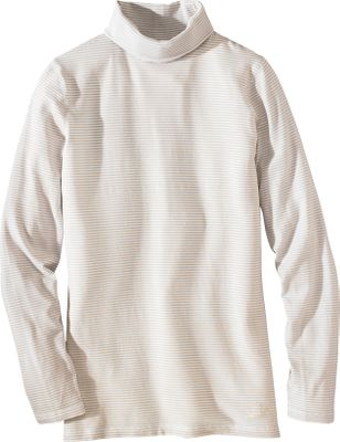 One touch of this unique fabric-blend mock turtleneck will impress you enough that youll want one in every color. The 62% polyester, 33% rayon, 5% spandex jersey blend has a soft hand, and the comfort and appearance is top notch. Imported. Sizes: S-2XL. Colors: Winter White, Deep Ruby. - $49.00