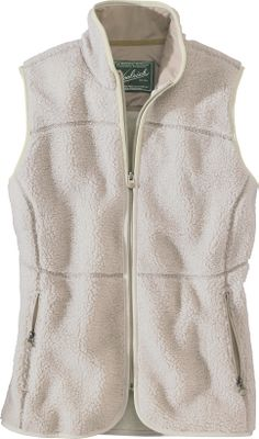 Crafted out of the unbeatable softness and warmth of 9.5-oz. Sherpa fleece, the High Point Vest boasts figure-flattering princess seams. Two zippered security handwarmer pockets protect hands during crisp weather. Inner security pocket offers media-cord compatibility. Made of 65/35 polyester/acrylic. Machine washable. Imported. Sizes: S-2XL. Colors: Onyx Heather, Dark Roast Heather, Stone Heather. - $129.00