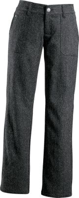 Traditional, boot-cut jeans with a five-pocket design are durable as well as comfortable. Stay outside and enjoy yourself even longer, thanks to a UPF rating of 50. Corduroy trim inside the waistband with a stretchy, tricot lining. 50% wool/23% polyester/22% viscose/4% silk/1% Lycra tweed blend. Imported. Inseam: 31. Sizes: 4-18. Color: Onyx. Size: 16. Color: Onyx. Gender: Female. Age Group: Adult. Material: Polyester. Type: Pants. - $48.88