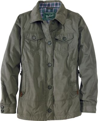 Stay warm and cozy in this jacket that can take you from errands to the range to the fireside. The lightweight shells characteristic twill weave makes it stain- and soil-resistant as well as durable. The liner is made of 100% cotton flannel, and the sleeves have 60-gram Arctic Insulation. Center, front button-down closure with upper chest pockets that also button close. Lower handwarmer pockets zipper shut to keep smaller items secure. An internal security pocket can hold your cell phone or media device and even has a port for your media cord to feed through to your ear. Adjustable tab at the back waist. Durable, water-repellent finish. 57/43 cotton/polyester. Machine washable. Imported.Sizes: S-2XL.Colors: Dark Shale, Dark Roast, Onyx. - $199.00