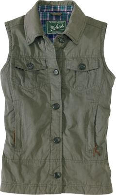 When the weather turns damp and cold, you'll love a rugged twill vest that's been treated with a durable water-repellent finish, waxed for superior water resistance and peached to the peak of softness. Cozy upper liner is crafted of 100% cotton flannel and the lower liner is made of long-lasting 100% polyester twill. Insulated with 60-gram Arctic Insulation, a polyester microfiber that locks in body heat and seals out the cold. Button-close front and upper chest pockets. Zip-secured handwarmer pockets. An inner security pocket is media cord compatible. Adjustable tab at back waist. Imported.Sizes: S-2XL. Colors: Onyx, Dark Roast, Dark Shale. - $139.00