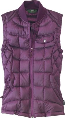 Flattering princess-seam construction, authentic goose down and water resistance combine in this superior all-around vest. Waterproof-treated 800-fill-power grey goose-down insulation teams with a breathable 100% polyester mini-ripstop shell to protect you from the elements. Concealed front zipper with internal storm flap. Left chest pocket with snap-close flap and media-cord-compatible internal security pocket offer extra storage options. Zipper-secured handwarmer pockets. Rib-knit collar and elastic inset at armholes. Vest packs into handwarmer pocket for easy storage. Machine washable. Imported.Sizes: S-2XL.Colors: Blackberry, Atlantic, Black. - $149.00