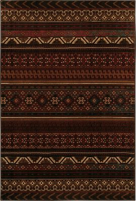Fitness Pull your room together with a durable, outdoor-themed area rug. Made of machine-woven, stain-resistant olefin fibers for an easy-cleaning, natural-feeling texture. Nonslip latex backing holds the rug in place. Spot clean. Made in USA. Dimensions: 8' x 11'. Colors: Cedar Run, Hutson Brown, Westland, Blackwell. Type: Rugs & Carpets. Design Blackwell. - $399.99