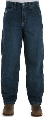 Entertainment In addition to the classic five-pocket styling, Wrangler Mens 20X Extreme Xtility Jeans have added cell/tool pockets on both sides to give you a little something extra in these jeans. The roomy, loose fit has straight-cut legs to slide over boots. 100% cotton denim. Sits lower on the waist. Imported. Inseams: 28, 30, 32, 34, 36, 38. Waist sizes: 27-36, 38-42 even. Color: Vintage Indigo. Size: 27-36. Color: Vintage Indigo. Gender: Male. Age Group: Adult. Material: Cotton. - $54.99
