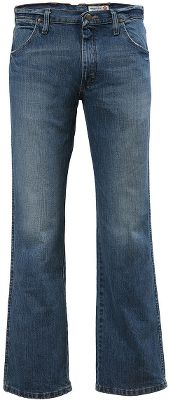 Take your favorite Western features from Wrangler jeans, add a modern spin and you get Wrangler Mens Premium Patch Slim 77 Jeans. They have a slim fit with a modern cut for more comfort without sizing up. The lowest-rise waist of any Wrangler jean. 13-oz. cotton denim with a worn-in look and boot-cut legs. Classic five-pocket styling. Imported. Inseams: 30, 32, 34, 36, 38. Waist sizes: 29-36, 38-42 even. Color: Worn Indigo. Size: 34. Color: Worn In. Gender: Male. Age Group: Adult. Material: Cotton. Type: Jeans. - $54.99