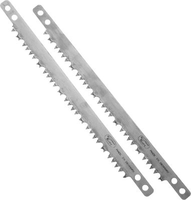 Camp and Hike Store additional blades for your Wyoming Saw in your handy carrying case or with your camping gear so you'll never be without a sharp blade. Per 2. Available: Bone or Wood Saw Blades. - $5.88