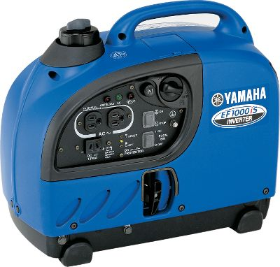 Motorsports Yamaha's industry-leading inverter generator is the ultimate in lightweight portable electricity. Features Pulse Width Modulation that produces pure sine-wave voltage, resulting in clean electricity that's perfect for anything from sensitive electronic equipment to computer-controlled appliances and power tools. Generator is built with sound-absorbing materials, newly designed USFS-approved spark-arrestor muffler, and revolutionary Yamaha engine to keep noise levels below 58dBA max. Smart Throttle automatically adjusts engine speed to match the electrical load required resulting in quieter operation and greater fuel efficiency. Electrical overload breakers prevent generator damage should an overload take place. Engine is air-cooled, 4-stroke, single cylinder OHV. Additional features include an Oil Watch Warning System to prevent engine damage, a 12-volt DC outlet and included cables to charge any 12-volt battery. Gender: Male. Age Group: Adult. - $799.99