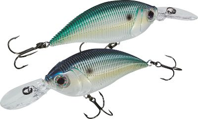 Fishing The wobbling rolling action of this crankbait covers the water column from shallow to deep. Its large round, buoyant body with round lip helps eliminate snags. The color-changing technology available in the Sashimi series from Yo-Zuri represents one of the most innovative new technologies in years. They are the only lures that can actually change color. The process is the result of years of development. Yo-Zuri engineers studied baitfish from all over the world to develop the most realistic color schemes. Baitfish change color to try and blend into their environment. They also change color due to stress, making them stand out in the school. These are the ones that game fish key in on as an easy meal. The color-changing Sashimi lures mimic this color-changing behavior of prey fish to commit predatory game fish to the strike. Color-change and wave-motion technology add to the fish-attracting appeal. Per each.Size: 2-3/4, 1/2 oz.Colors: (001)Chameleon Gizzard Shad, (009)Chameleon Shad, (010)Chameleon Firetiger, (013)Chameleon Crawfish. - $9.88