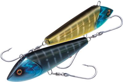 Fishing If youve used a Yo-Zuri lure before, you know that quality and performance are standard. No different for the Bonita, a heavy-duty saltwater lure designed for wahoo, yellowfin tuna and other big game fish. Almost indestructible powerbody with Sashimi ribs generates a strong, turbulent water flow. Perfectly balanced natural swimming action and the patented external Yo-Zuri sound system provide a wave motion vibration. Rig it with a ball-bearing swivel and super sharp corrosion-resistant saltwater hooks. The color-changing technology available in the Sashimi series represents one of the most innovative new technologies in years. They are the only lures that can actually change color. Yo-Zuri engineers studied baitfish from all over the world to develop the most realistic color schemes. Per each. Sizes: 6-3/4, 4-5/8 oz.; pulls at 12 to 15 knots. 8-3/8, 10 oz.; pulls at 15 to 17 knots. Colors: (001)Chameleon Wahoo, (002)Chameleon Orange/Black, (003)Chameleon Flying Fish. Color: Orange. Type: Crankbaits. - $54.99