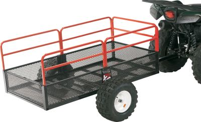 Motorsports Add stability and smooth the ride of any two-wheeled Yutrax trailer by converting it to a four-wheeled trailer with Yutraxs Tracking Axle. Heavy-duty pivoting attachment arms reduce bounce by riding over the grounds contour. Includes wheel assemblies, tracking beam and necessary installation hardware. Gender: Male. Age Group: Adult. Type: Trailers. - $139.88