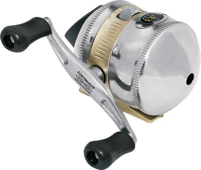 Fishing The 33 Gold combines all the highlights of the newly redesigned Zebco 33 with the addition of a three-bearing drive and Continuous Anti-Reverse for instantaneous hooksets. The modern ergonomic design matches up with a soft-touch handle and ergonomic thumb button for comfortable all-day casts. Electro-tuned crown gears and a tuned gear train prevent the reel from locking up. Dual ceramic pickup pins for instant line recovery. The 33T Gold boasts dual ceramic pickup pins for instant line recovery. Converts to right- or left-hand retrieve. Adds the benefit of a three-bearing drive and Continuous Anti- Reverse. The 22 Gold is a midsized reel with all the features of the 33 Gold. A great all around reel, it works for a variety of applications. The Zebco 11 Micro Gold is a dependable ultralight reel. This scaled-down reel is great for pitching lightweight crappie jigs and spinners. Three ball bearings and Continuous Anti- Reverse. The Zebco 11T Micro Gold has the same features of the 11 Micro in an underspin model. Smooth, flawless performance in an ultralight underspin package. Great for finesse work or panfishing. Three ball bearings and Continuous Anti-Reverse. Type: Spincast Reels. Reel Model: 22 Gold. Line Capacity (yds./lb. test): 125/8. Gear Ratio: 3.4:1. Bearings: 3. Reel 22goldcp. - $19.88