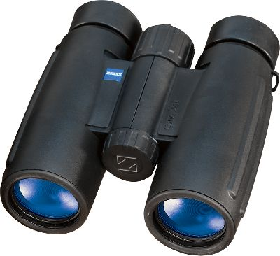 Hunting These lightweight, mid-size Zeiss Conquest 15x45 Binoculars boast the quality that has made Zeiss optics renowned worldwide. The proprietary MC anti-reflective coatings on all glass-to-air surfaces and P phase-correction prism coatings maximize brightness, contrast in low-light conditions and color integrity. They are nitrogen-filled, and the push-pull lockable eyecups give eyeglass wearers a full field of view. Includes neck strap and Cordura nylon carrying case. Each has a lifetime Transferable North American Warranty. Color/Camo Pattern: Black. Binocular Color: Black. Weight (oz.): 19.4. Type: Full-Size. Power: 15x45. Height (in.): 6.42. FOV @ 1,000 yds. (ft.): 209. Magnification: 15x. Prism Type: Roof. Power 15x45. - $1,199.99