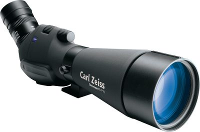 Hunting Outfitted with advance Zeiss optics, these spotting scopes deliver fields of view and image clarity beyond compare. Fluoride glass in the objective lenses is coated with protective LotuTec that sheds water and dirt. Waterproof and dustproof housings are lightweight, yet rugged and fully armored to withstand use on any outdoor adventure, making them ideally suited to use in mountains and difficult terrain. Dual Speed Focus aids functionality and ease of use, enabling users to quickly acquire and view distant objects in great detail. Outstanding brightness, resolution and color reproduction, even at long range. Imported. - $2,749.99