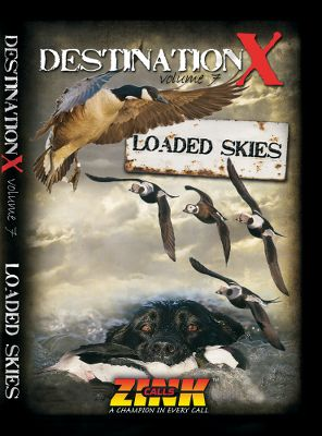 Hunting The Destination X team follows the migration, constantly hunting in the flight paths of thousands of geese and ducks. This DVD documents their hunts in Quebec and Ontario, and features field, water and flooded-timber footage. Watch the masters take on Canada and snow geese, as well as many species of ducks, in this action-packed waterfowling video. 98 minutes. DVD. - $14.99