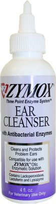 Hunting Nontoxic, deodorizing ear cleanser helps control chronic ear problems. Safe for any pet. Gentle and nonirritating with no harsh chemicals or strong medicinal smell. Utilizes natural enzymes, Lacoperoxidase, Lactoferrin and Lysozyme. Size: 4 oz. - $7.99