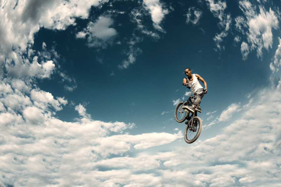 BMX Invisible Wings - Angela Zhang by Jose Perez