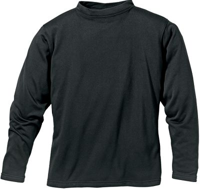 Hunting Heavyweight polyester fleece delivers the ultimate in next-to-skin comfort. It's superior insulating properties, combined with breathability, make it a smart base-layer choice for late-season hunts. Machine washable. Imported.Sizes: M-2XL.Color: Black. Type: Base Layer Tops. Size: Medium. Color: Black. Size Medium. Color Black. - $34.99