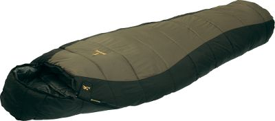 Camp and Hike You wont be bothered by the nights chill inside a sleeping bag stuffed with Techloft+ insulation. This interior layer consists of multihole, staple-length, silicone-finished microdenier fibers that have a high loft, compact well and serve to preserve your nights sleep in temperatures as low as 20F. The outdoor-tough shell is made of 210T nylon diamond ripstop and the soft but durable lining, made of 210T polyester, sports a repeating Buckmark logo. Insulated chest and zipper baffle. No. 8 YKK separating zippers. Includes a stuff sack. Imported. Sizes: Regular, Long. - $59.88