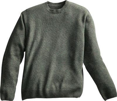 This casual Cabelas Classic Ragg Wool Sweater combines the insulation of wool with the durability of nylon for ultrawarm comfort and long-wearing dependability. Classically finished with a comfortable, reinforced rib-knit crew neckline, waist and cuffs. 80/20 wool/nylon. Imported.Sizes: S-2XL.Colors: Evergreen Heather, Tan Heather, Buffalo Heather. Type: Sweaters. Size: X-Large. Color: Tan Heather. Size Xl. Color Tan Heather. - $14.88
