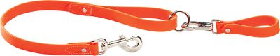 Hunting Keep control of your dog while maintaining the use of both your hands. Remains soft and flexible down to -20F and cleans up easily. Waterproof. Made in USA. Colors: Orange, Yellow, Black, Pink. Color: Orange. Type: Leashes & Leads. - $19.99