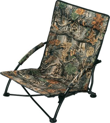 Hunting Turkey hunting often requires hours of patient sitting and calling, so save yourself from a sore backside by using Cabelas Gobbler Lounger. Those big gobblers will be none the wiser while you watch them come in from the comfort of this low-profile folding chair. It weighs 6-1/2 Ibs. Includes a free carry bag. Setting it up is quick and easy. The seating area measures 23-1/4H x 20-1/2W x 17D. Lounger has a black backside and a camo-patterned front. Imported. 23-1/4H x 20-1/2W x 17D. Wt: 6-1/2 lbs. Camo pattern: Cabelas Zonz Woodlands Color: Zonz Woodlands. - $31.88