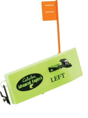 Fishing Rig up and troll the waters for trophy walleyes and other freshwater fighters. Highly visible and easy to use, our Advanced Anglers Planer Board With Tattle Flag is an unbeatable value thats sure to outperform your expectations. The spring-loaded flag pulls down the moment a strike occurs. Set flag up with the heavy-tension spring for large crankbaits, or use the light-tension spring for live bait. Adjustable keel weight. Five tension-adjustment positions. Two release clips. Dimensions: 9-3/4L x 3-1/2W. Available: Left, Right. - $39.99