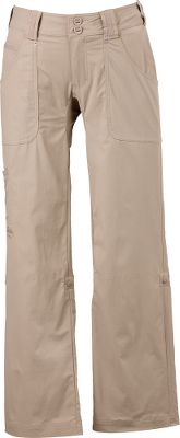 With the versatility to carry you from early morning breezes to afternoon sunshine, these Cabelas Womens Trail Pants feature roll-up cuffs that instantly convert the pants to capris. The rolled-up cuffs are held in place with button tabs no worrying about them falling down while youre on the move. The gusseted crotch and 96/4 nylon/spandex ripstop fabric provide you with just enough stretch and room for ease of movement. A moisture-wicking treatment and UPF rating of 30 leave you comfortable, dry and protected from the sun. Deep front pockets with easy access. Flat rear pockets and a side cargo pocket. Wide waistband with reinforced belt loops and a double-button closure. Imported. Inseam: 32. Womens even sizes: 4-18. Colors: Sandy River, Smokey Mountain, Black. Size: 12. Color: Sandy River. Gender: Female. Age Group: Adult. Material: Nylon. Type: Pants. - $24.88