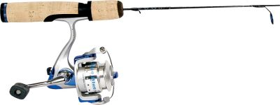 Fishing Sensitive, solid-graphite rod with stainless steel Dynaflow guides and Micro-Bite Tip. The matching reel has three bearings with infinite anti-reverse. - $39.99