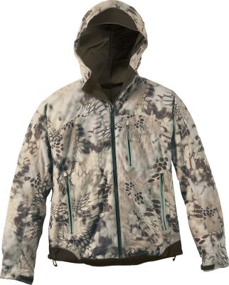 Hunting The Kryptek complete layering system teams proven tactical designs with features demanded by todays hunters. Krypteks Outdoor Groups designers draw their concepts from actual battlefield experience. Soft, quiet jacket boasts a rugged, waterproof, three-ply exterior that shields you from rain and wind while maintaining core body temperature. Abrasion-resistant, heat-welded sealed seams and bonded laminate prevent moisture buildup. Stretch fabric promotes free range of motion and has a durable water-repellent finish for quick-drying performance. Ventilation in key areas ensures long-wearing comfort, regardless of temperature. Chest-high pockets allow access while wearing a pack. Lined chin guard eliminates zipper chafe. Helmet-compatible hood with pull adjustment and extra-strong brim. Other features include ample pockets for storage, underarm zippered vents, heat-sealing hem drawcords, waterproof zippers and adjustable cuffs. 100% polyester. Imported. Sizes: M-2XL. Camo pattern: Kryptek Highlander. Size: XS. Color: Kryptek Highlander. Gender: Male. Age Group: Adult. Pattern: Camo. Material: Polyester. - $249.99
