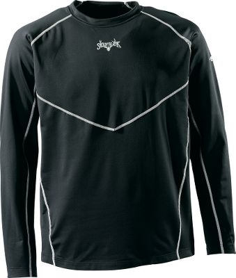 Hunting Scent-Lok's moisture-wicking base-layer Heavy Weight top perfectly blends moisture management with odor control, adding a new solution to your scent-control strategy. This polyester-blended garment is antimicrobial treated to control odor-causing bacteria. Keeps you warm, dry and comfortable in cold-weather conditions. Imported. Sizes: M-2XL.Color: Black. - $39.99