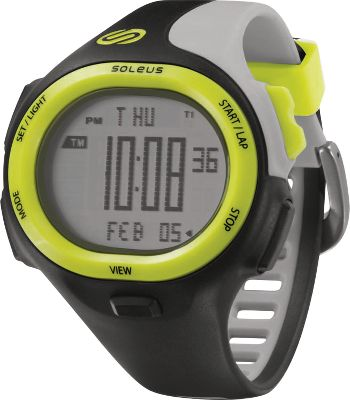 Fitness Packed with sporty style and its easy-to-read digital display provides the time-tracking tools for all your exercise essentials. Serious runners will appreciate the 30-lap memory, stopwatch and five interval timers. For daily living, it features date information, a backlight, dual time and two alarms. Equipped with reliable Japanese quartz movement and a comfortable polyurethane strap with buckle clasp. Case is made of highly durable resin. Water-resistant to 50 meters. Case diameter: 47mm.Colors: Black, Gray, Yellow. - $54.99