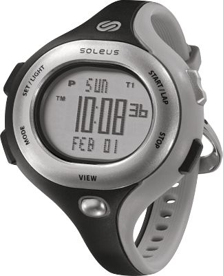 The Soleus Womens Chicked Digital Sports Watch is packed with runner-friendly features. The large, backlit digital display is an easy-reading interface for all of your exercise essentials, including a stopwatch with 30-lap memory, five interval timers, date information, dual time mode and two alarms. Durable resin case with comfortable polyurethane strap. Precision Japanese quartz movement. Water resistant to 165 ft. (50 meters).Case diameter: 38mm.Colors: Blue, Pink, Black/Gray, Black/Pink. - $54.99